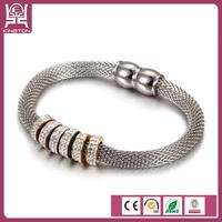 cheap rhinestone slide bracelet letters