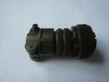 Metal timber connector aviation power plug MS3102 series