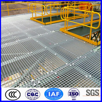high quality galvanized mezzanine bar grating