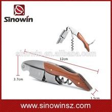 Stainless Steel & Wood Cork Screw