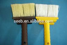 High quality nylon ceiling plasitc handle brush