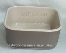 Matte Glaze Finish Ceramic Stoneware Oven Safe Baking Dish Bakeware