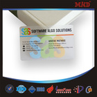 MDC0094 Matte Surface Clear Plastic Business Cards