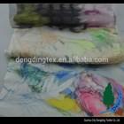 Newest product Printing organza bonded wool chiffon fabric for fashionable wear