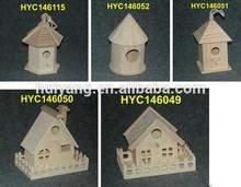 antique wood bird house