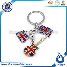 custom keychain with london logo