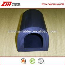 imported EPDM rubber D shape fender, marine fender