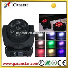 CX-MW703 LED 7x15w RGBW 4in1 beam moving head lighting