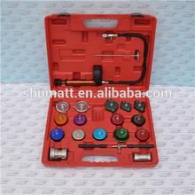Universal Radiator Pressure Tester Kit 21pcs cooling system and radiator cap pressure tester