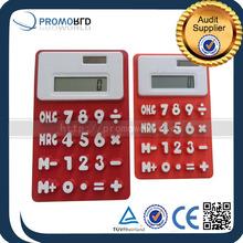 waterproof silicone calculator