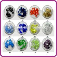 2014 hot selling New Style fashion Artificial Fingernails nail art tips nail art round opal set