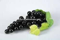 artificial fruits decorative black grape for home and Christmas decoration