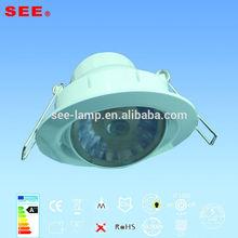 factory xiamen led downlight 7w rotatable 30 degree led downlight