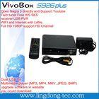 starmax x100 full hd satellite receiver vivobox s926 plus for south america