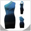 Wholesale plus size dress fashion new model casual dresses elegant prom bandage dress