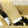 for iphone 5s 24k gold housing,100%24K real gold with diamond housing for iphone 5 5s,luxury 24k gold housing for iPhone 5s