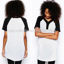 Garment factory oem China fashion lady dress cotton design