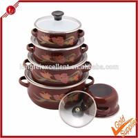 Kitchen accessory porcelain cast iron enamel cookware