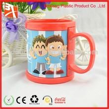 Fashion football promotional pvc mug