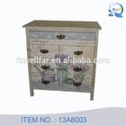 Wholesale furniture vintage cabinet wooden multi drawer