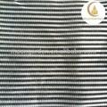 beau et coloré cher rayé noir et blanc tissu de rideau