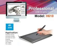 Shenzhen Huon H610 Graphic Tablet Digitizer for designer