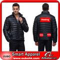 de alta calidad de chaqueta al aire libre sólo el diseño de la batería con ropa de calefacción eléctrica de la batería climatizada cálido ropa oubohk