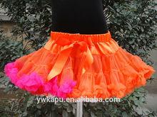 fashion young girls mini skirt halloween skirt in stock