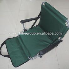 Folding outdoor stadium chair with armrest,lawn chair,heated stadium.