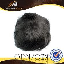 VIP factory supply Bulk natural hair wig for men