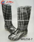 fashion women pvc jelly rain boots