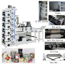 RY480-6C-B UV Label Flexo Printing Machine