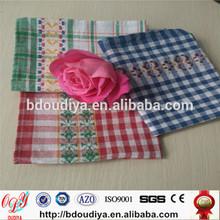 100% jacquard cotton tea towel china baoding supplier