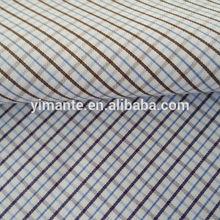 100%cotton check fabric in stock