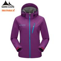 Custom high quality ladies waterproof jacket