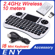 2.4 Ghz Keyboard I8 Wireless Keyboard with Touchpad for Android Smart TV