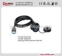 For digital cameras,scanner,PC,transmission equipment,network 3.0 usb waterproof connector