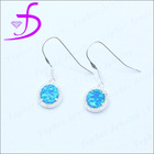 2014 hot infinity jewelry earrings fashion imitation jewellery opal earrings