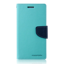 wholesale Goospery wallet leather cell phone case cover for samsung galaxy mega 5.8