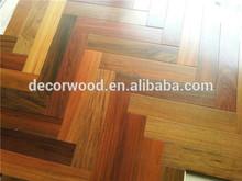 Hotsale traditional design herringbone parquet wood flooring