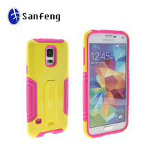 Durable multi-color fashional case for Samsung galaxy s5 case / cellular surface phone accessories for Samsung s5 i9600