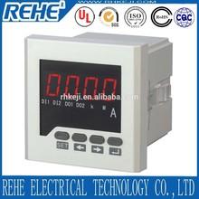 digital ammeter and voltmeter