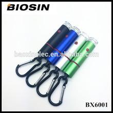 USB charged key ring led light