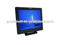 1024x 768 Professional 15 Inch hd sdi monitor for Camera