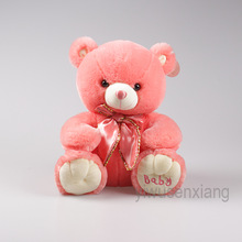 plush toys cute red teddy bear stuffed animal Valentine's Day gifts wholesale