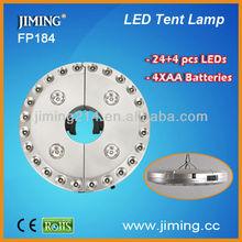 24 LEDs Umbrella Light-FP184: with elastic slip, 3 level brightness adjustable, easy open and fix