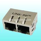 10 / 100 / 1000Base-T rj45 connectors or modular jacks into I/O controller