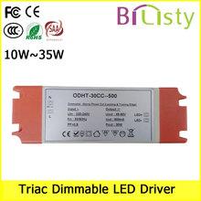 25w Triac dimmable led driver 500ma led power driver