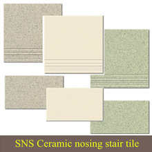 Ceramic nosing stair tile