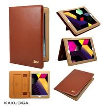 simple design genuine leather for ipad mini 2 case